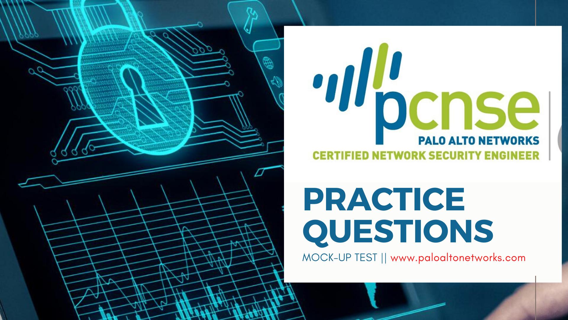 PCNSE paloaltonetworks.com Practice test mockup questions