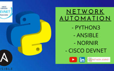 Network Automation with Python3, Ansible, Overview of Cisco Devnet – Oct 2020 Batch